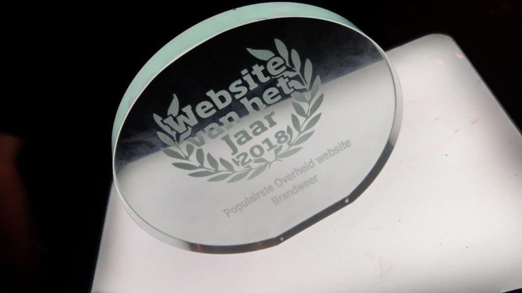 trofee website van het jaar